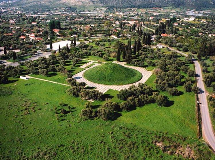 гробница афинских гоплитов