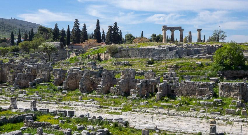 древная агора коринта